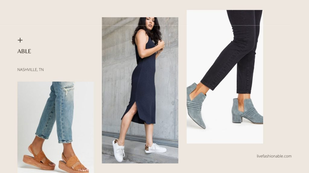 ABLE | 5 Ethical Shoe Brands to Try On